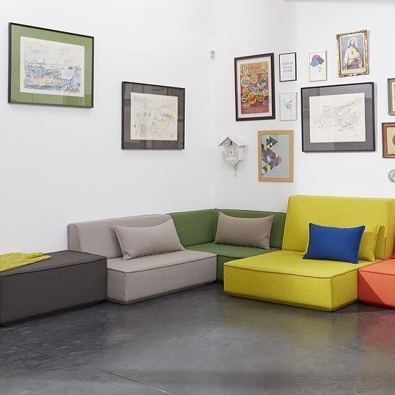 1000 id es sur le th me canap s modulaires sur pinterest. Black Bedroom Furniture Sets. Home Design Ideas
