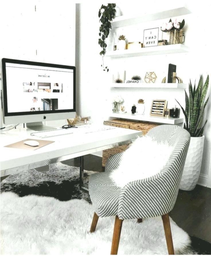 White Desk Designs For Minimalist Home Office Bro Designs Desk Home Homeoffice Minimalist Office White In 2020 White Desk Design Cozy Home Office Office Design