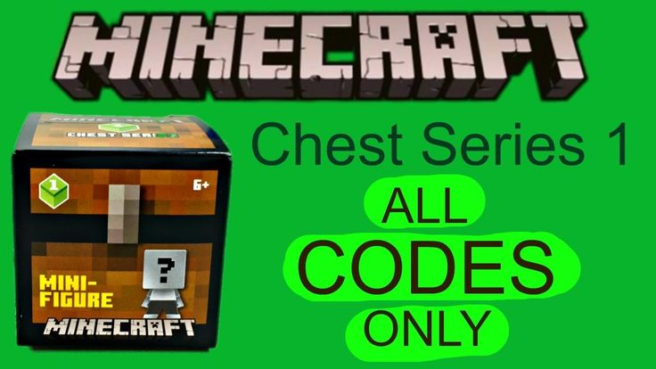 Minecraft Codes Only Minifigures Chest Series 1 Ptrc