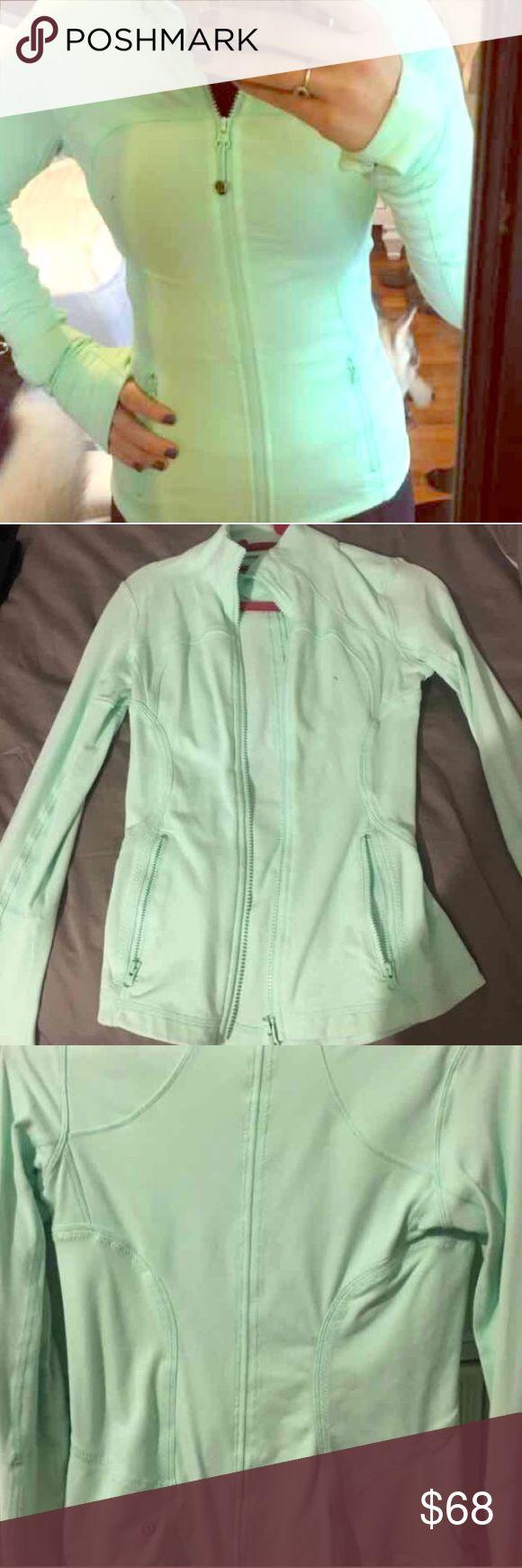 Lululemon Full Zip Mint Jacket Lululemon Full Zip Mint Jacket. Perfect Condition size 2 lululemon athletica Jackets & Coats