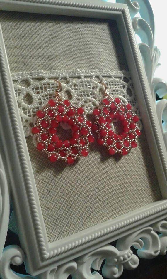 Orecchini di perline/ Orecchini fatti a mano/ Orecchini di