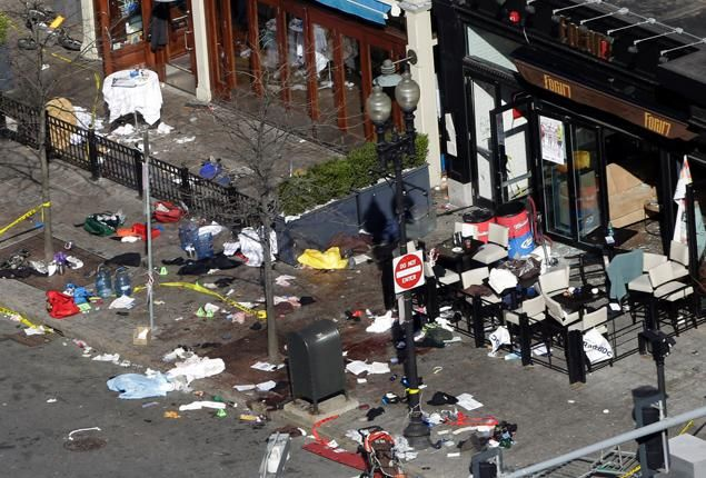 boston marathon bombing | Boston Marathon bomb devices were pressure cookers filled with nails ...