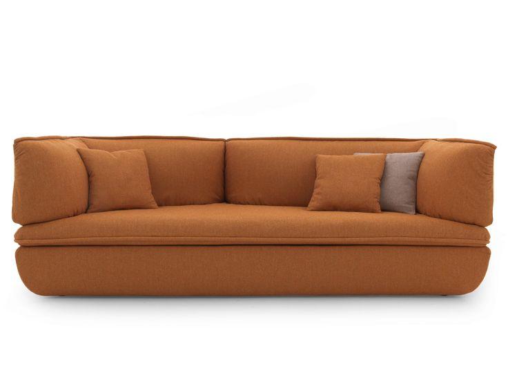 Sectional upholstered fabric sofa MIMIC by DE PADOVA | design Monica Förster