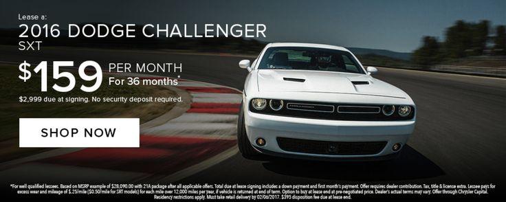 2016 Dodge Challenger Lease
