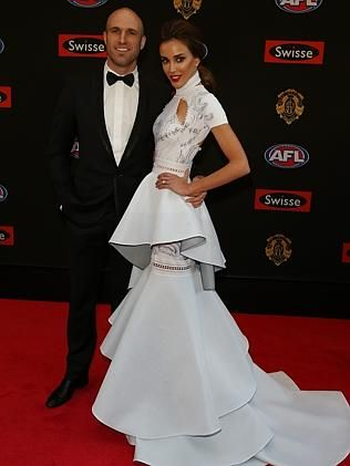 Chris and Bec Judd. Picture: Alex Coppel