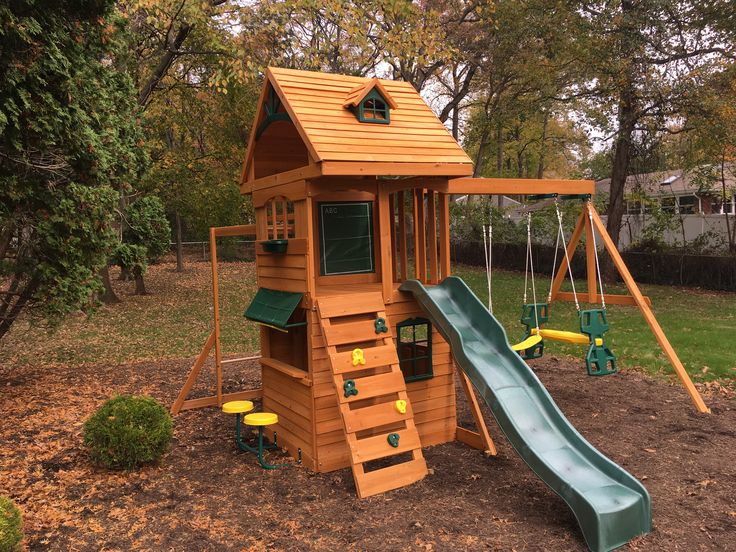 From our service dept - an independent playset assembly in Fanwood.