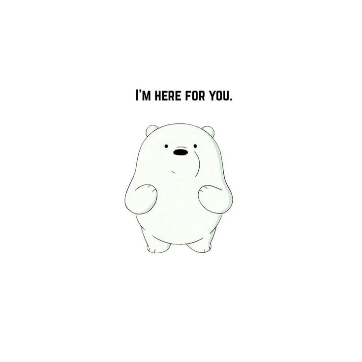 """8,203 Me gusta, 244 comentarios - We Bare Bears (@webarebears.official) en Instagram: """"Tag someone you're here for #icebear #hereforyou #always"""""""