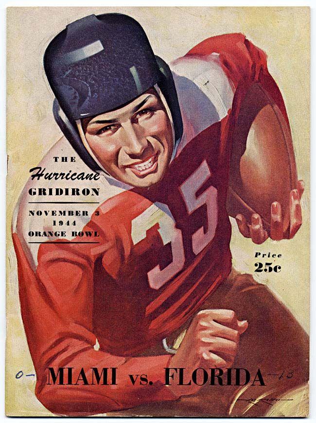 Vintage American Football Poster