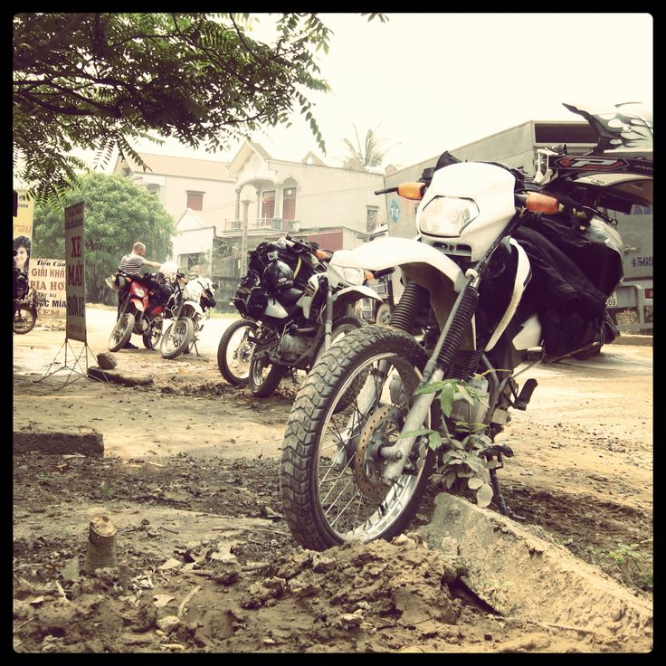 Vietnam Bikers Escape - April 2014
