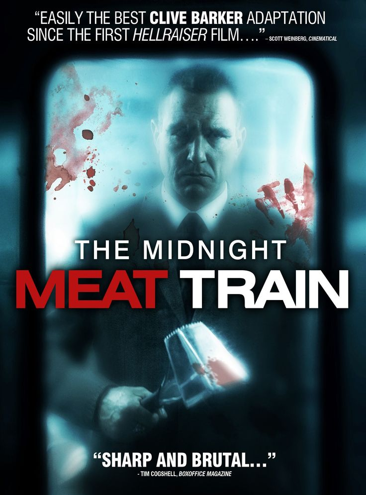 The Midnight Meat Train. This is one of the goriest movies I've ever seen. Vinnie Jones' character is terrifying.