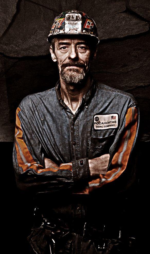 Appalachian coal miner ... West Virginia, USA