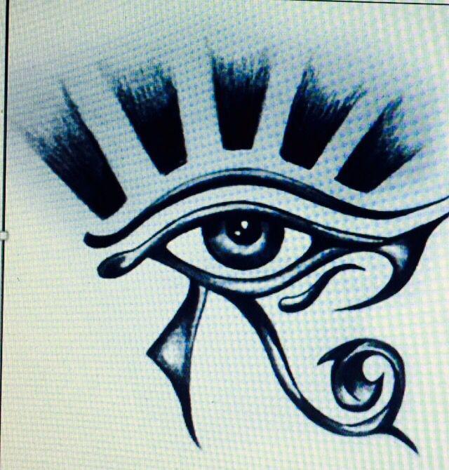 El Ojo que todo lo ve! Ojo de Horus! Diseño final