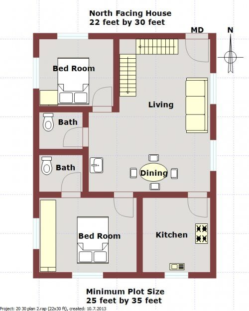 captivating house floor plans line ideas best floor plan online 10 Vastu Tips for North Facing Houses | Vastu Wiki 2bhk House Plan, Dream  House