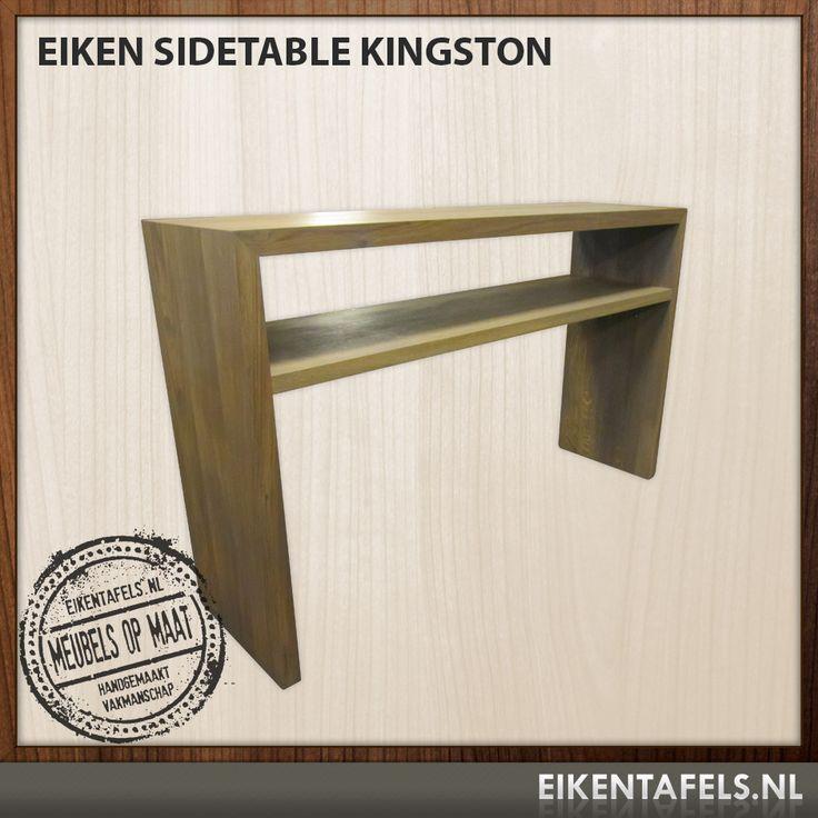 *Eiken Side Table Kingston* http://www.eikentafels.nl/product,Eiken+Side+Table+Kingston,436    Met dit prachtige eiken side-table Kingston haalt u een mooi meubelstuk in huis, eikentafels.nl maakt eiken meubels op maat in elke gewenste afmeting in de eigen meubelmakerij met ervaren houtspecialisten.    Bezoek de showroom voor meer informatie of bestel uw eiken meubel direct online in de webwinkel. Sidetables zijn de laatste tijd weer helemaal de trend.