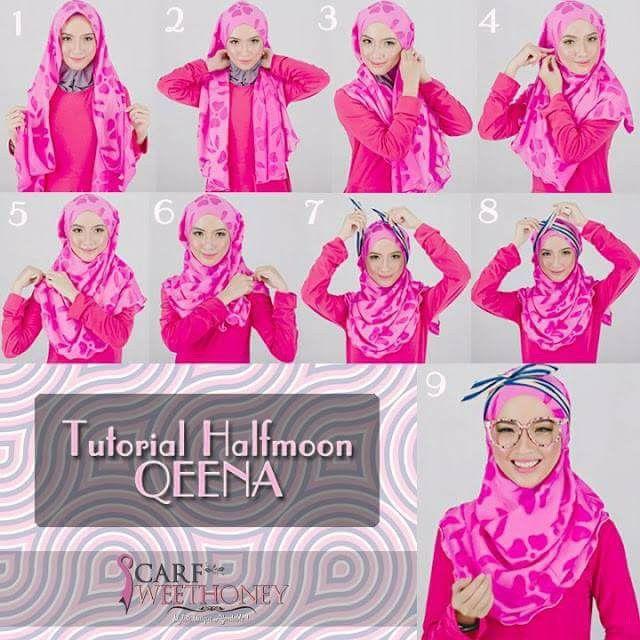 Tutorial Hijab, tudung, shawl