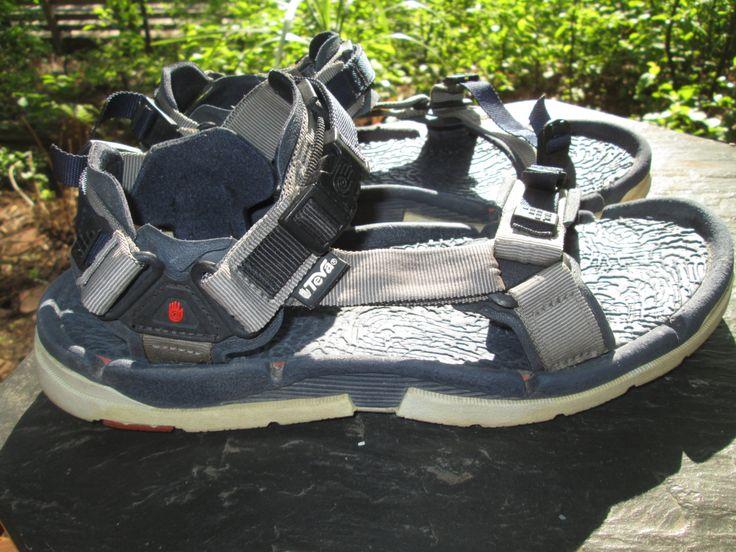 Vintage TEVA water shoe. Made in USA Size 14 (FOURTEEN!) by MrsHummelsBasement on Etsy