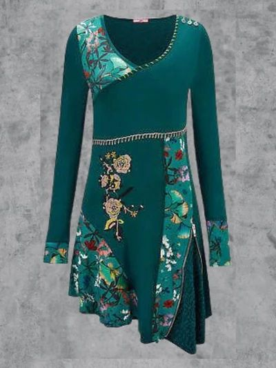 new fashion2 ndash greatchoo long sleeve print dress long sleeve