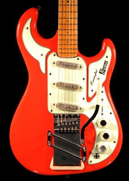 Burns Marvin Signature 64 Guitar (Red) Hot Rox UK