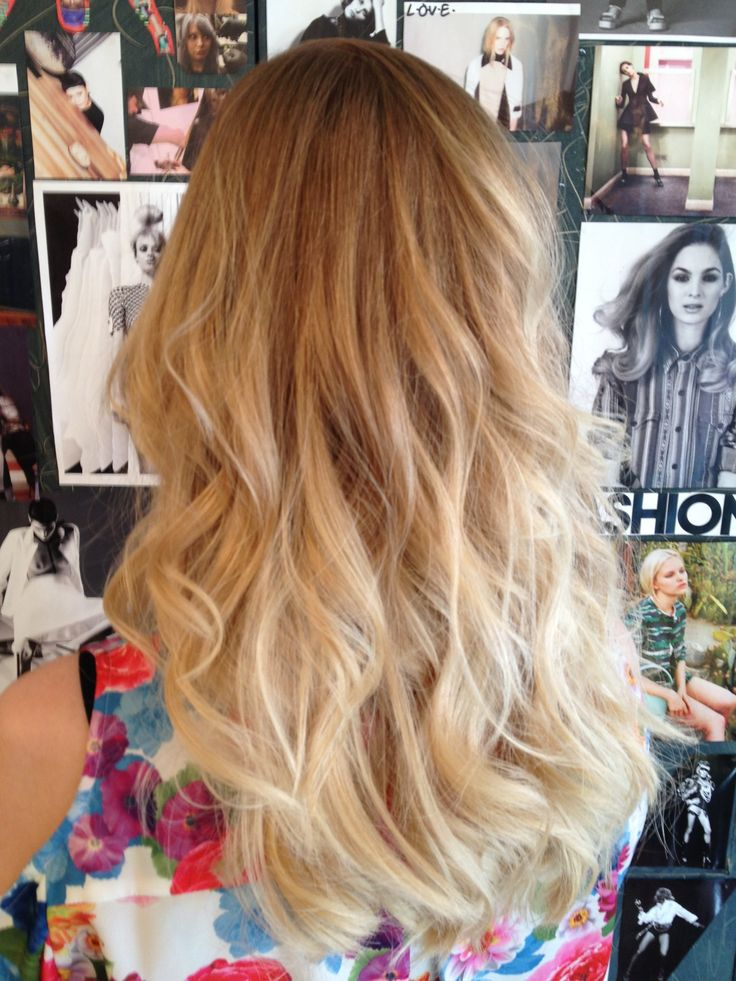 Blond Dip-dye for Gro London | Hair | Pinterest | My hair ...