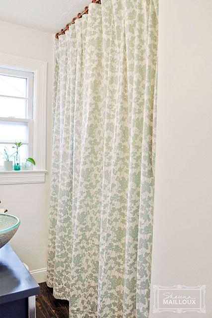 Best 25 Double Shower Curtain Ideas On Pinterest Double Shower Curtain Rod Transitional