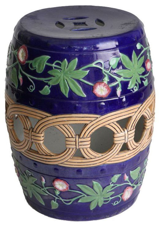 151 Best Garden Stools Amp Ginger Jars Images On Pinterest
