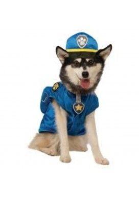 Disfraz de Chase Patrulla Canina para perro