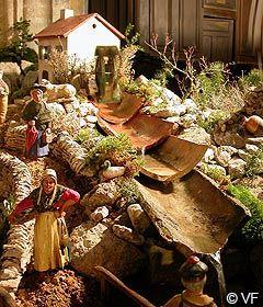 Crèche de Noël à Bonnieux - reportage Horizon Provence