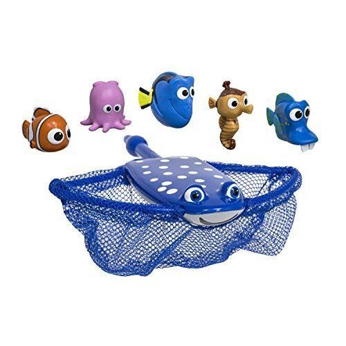 Kids Diving Games Swimming Disney Finding Dory Mr. Rays Dive and Catch Game #SwimWays