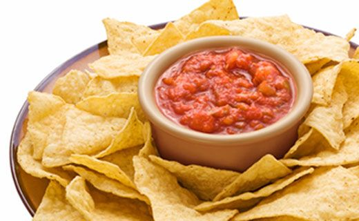 "Basic #Salsa - can also be used as a ""skinny"" topping for Mexican-inspired meals."