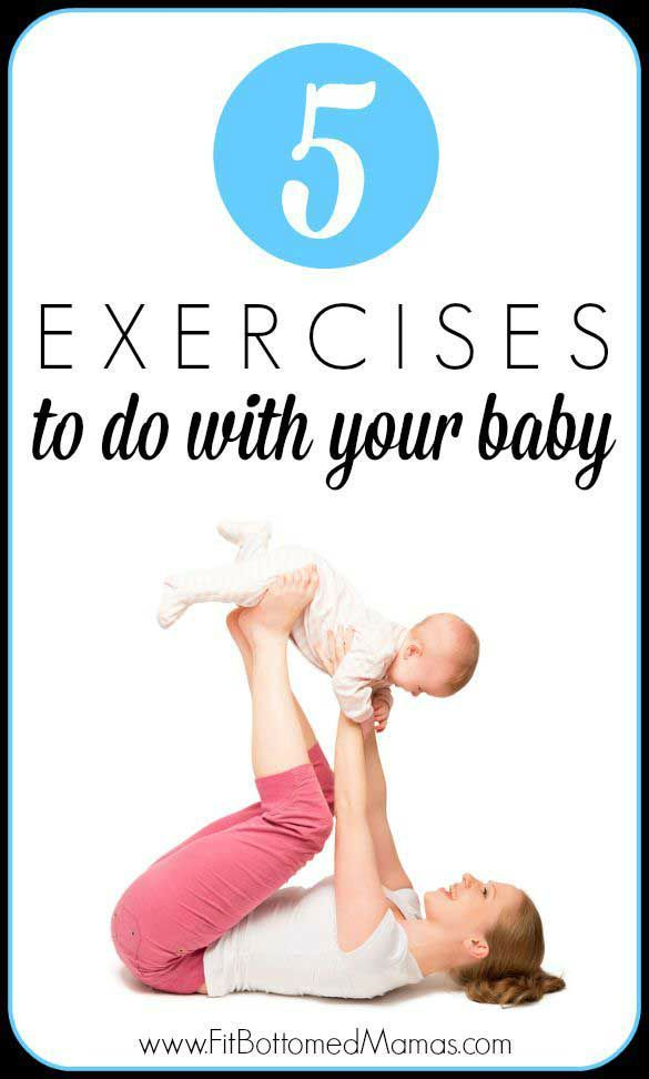 Grab yo' baby and prepare to get your pre-baby body back, mamas! | Fit Bottomed Mamas