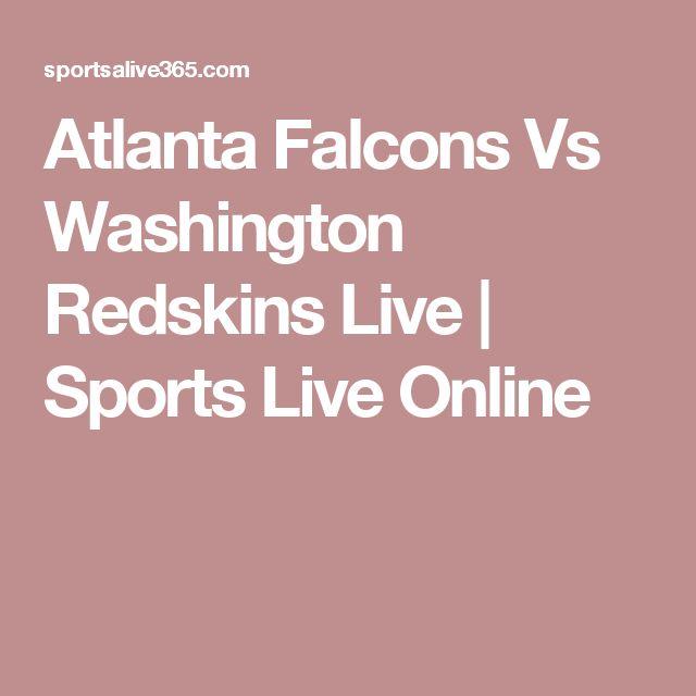Atlanta Falcons Vs Washington Redskins Live | Sports Live Online