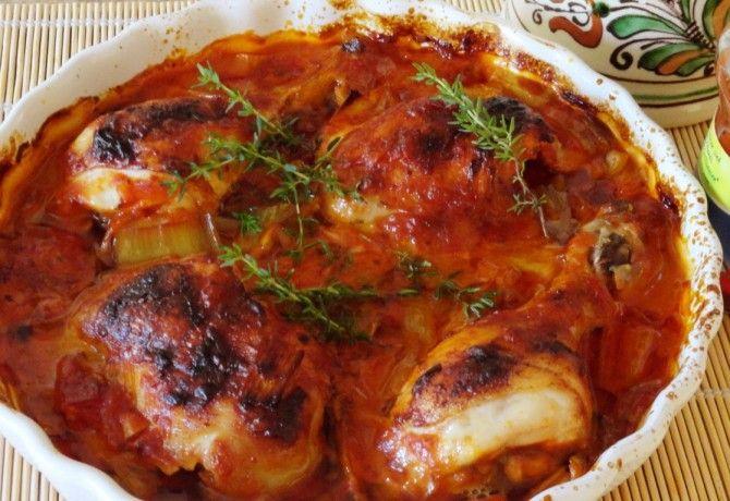 Tejszínes-chilis mártásos csirke