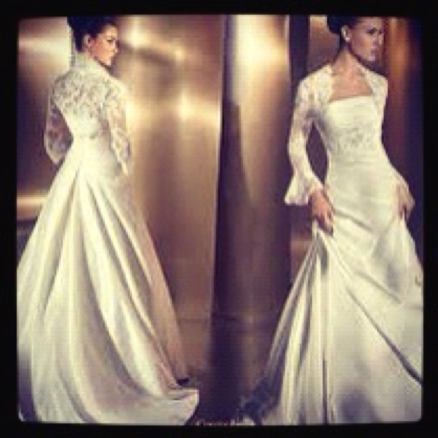 45 best wedding one day images on pinterest wedding for Spanish lace wedding dress