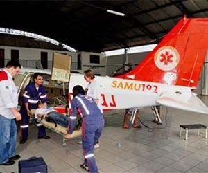 CONEXÃO BOMBEIRO : Renovado já pela quarta vez, SAMU Aéreo do Piauí n...