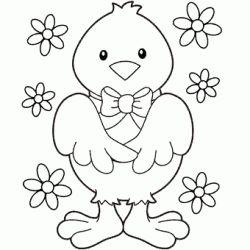 Civciv Boyama Sayfas Bebek Coloring Pages Easter Ve Coloring