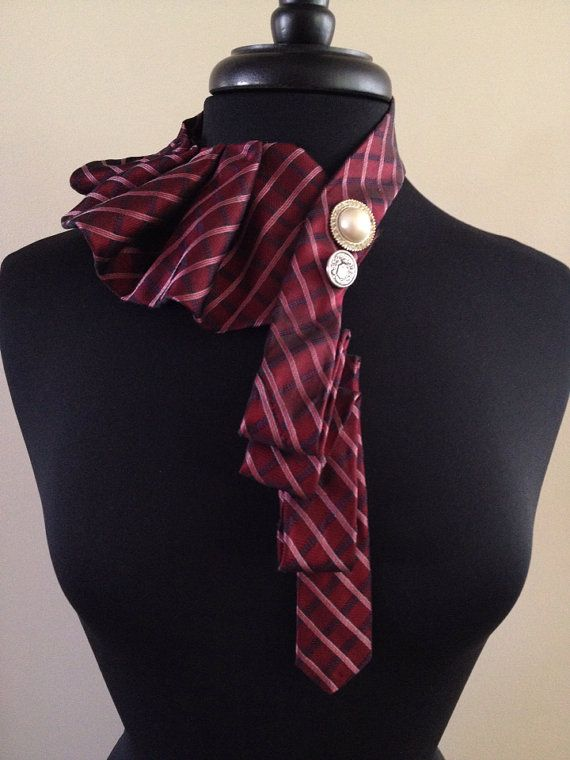 Tie Necklace by ScarlettKaysedy on Etsy, $5.00