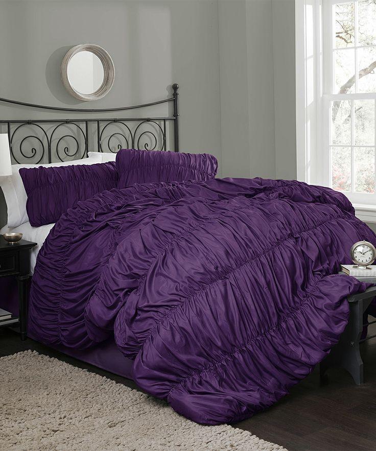 17 best images about purple 39 n grey on pinterest purple. Black Bedroom Furniture Sets. Home Design Ideas