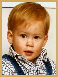 Prince Henry of Wales, the second son of Charles Prince of Wales and Lady Diana Spencer, was born on 15 September, 1984, at St. Mary's Hospital,Paddington, West London. He was baptized with the names Henry Charles Albert David at St. George's Chapel, Windsor Castle, though is always known as simply Harry.