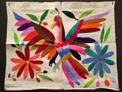 Folk art, oaxacan embroidery