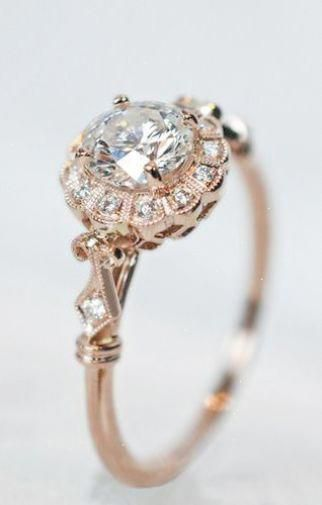 Neat Vintage Diamond Engagement Rings Nyc Exceptional Vintageengagementring