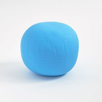 Giant stress ball from Play Visions. Comes in a giftable box. Bright blue color. This oversized stress ball is great for an office gift or to help relieve stress at work.<br><br>Size - Approximately 1