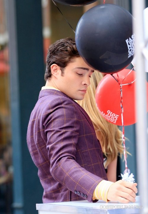 More #EdWestwick looking great as #ChuckBass.