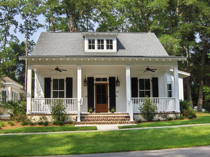 25 best ideas about southern cottage on pinterest Little cottage homes
