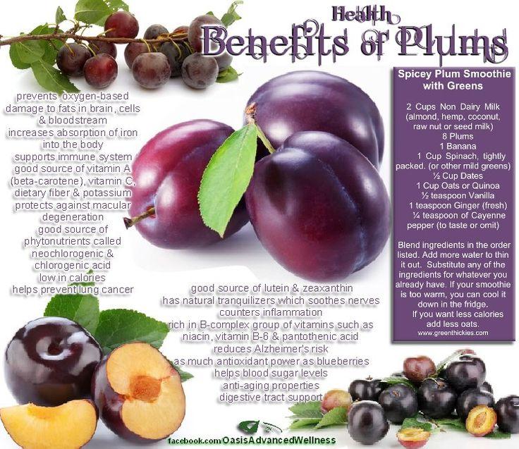 Oasis Advanced Wellness: Benefits of Plums