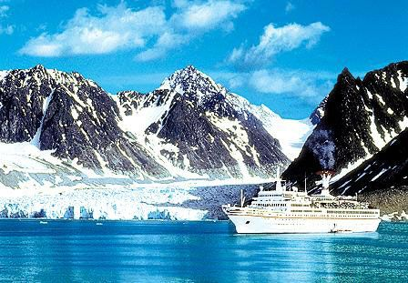 Vacanta in Magdalenenfjord Spitzbergen, vacante de vis, calatorie, insule si locuri de scufundat, top plaje de vis