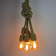 6+Heads+Retro+Loft+Vintage+DIY+hemp+rope+Pendant+Lights+Living+Room+Dining+Room+Study+Room/office+Edison+Chandelier+–+EUR+€+216.98