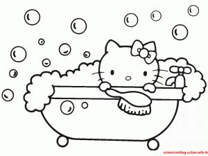 Hello Kitty   Színezővilág