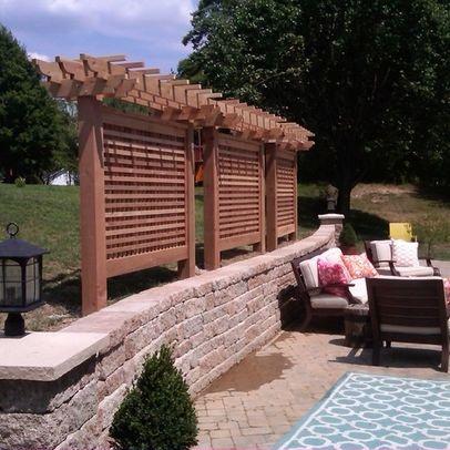 backyard privacy ideas: garden privacy ideas outdoor screen more. - Outdoor Patio Privacy Ideas