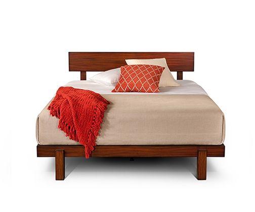alana platform bed iconic midcentury platform bed rated among the best platform