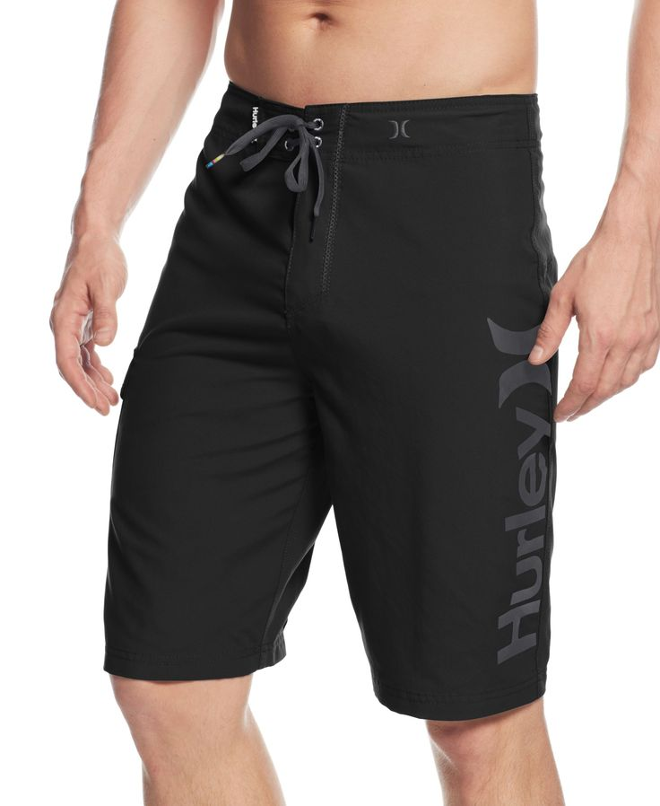 Hurley Men's Swimwear, One & Only Supersuede Logo 22 Board Shorts -  Swimwear - Men - Macy's